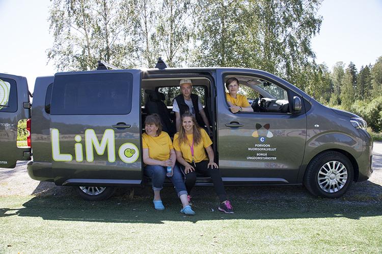 Porvoon nuorisotoimi LIMO-auto