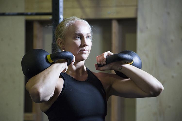 Stefanie Hagelstam crossfit-urheilija